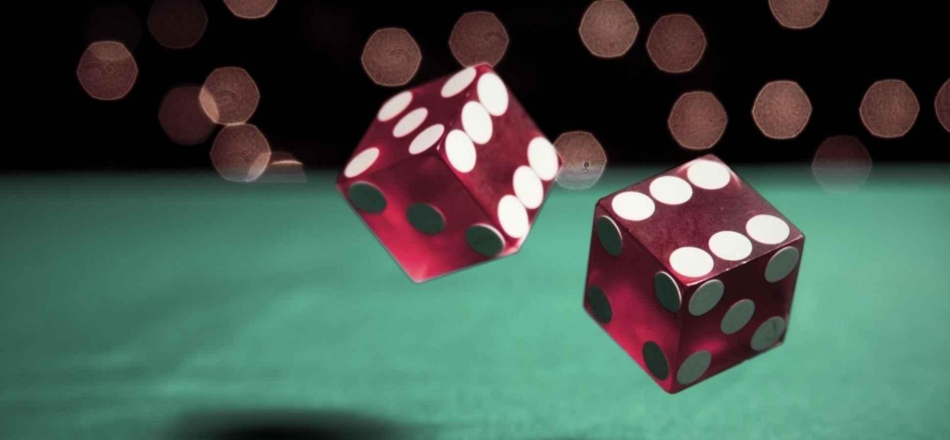 a gambling den