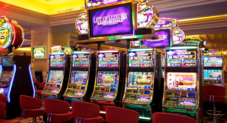 You can't trick an online slot machine